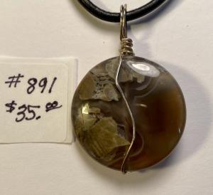 Thunder Agate #891 $35.00