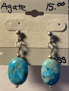 Crazy Lace Agate. E368, $15.00