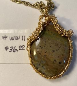 Jasper-green #WW 11, $36.00