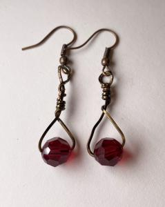 8mm Red Swarovski Crystal E408 $16.00