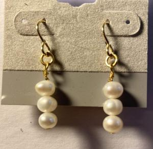 Freshwater Pearls E366, $15.00
