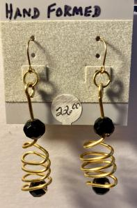 Hand Formed, Black glass # 917, $22.00