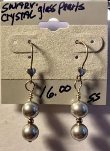 Swarovski crystal glass Pearls E383, $16.00