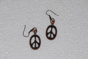 Peace Earrings #283