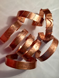 Copper Bracelets cuffs