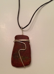 Jasper - red/brown # P23